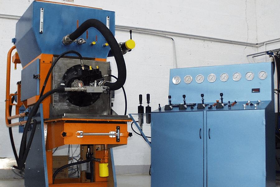 banc tests pour le contrôle de composant hydraulique
