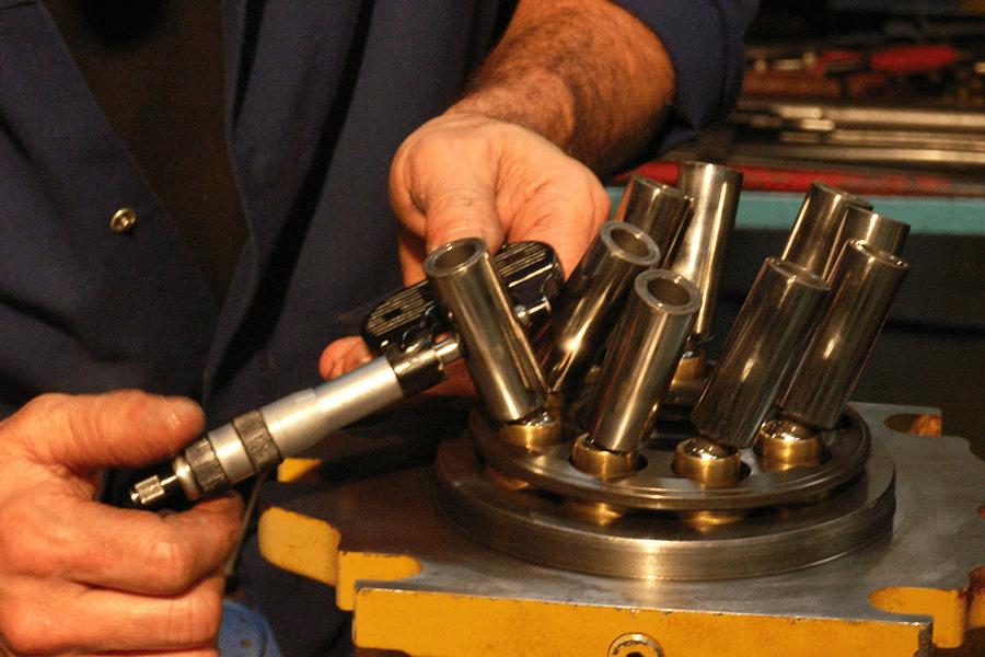 reparation de moteur hydraulique